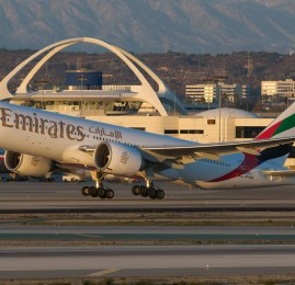 E o novo vôo mais longo do mundo vai ser de Dubai para o Panamá operado pela Emirates