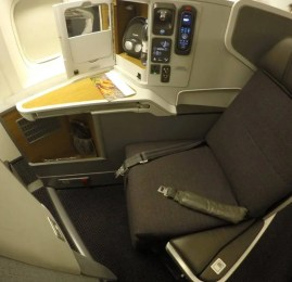 Classe Executiva da American Airlines no B77W – São Paulo para Dallas