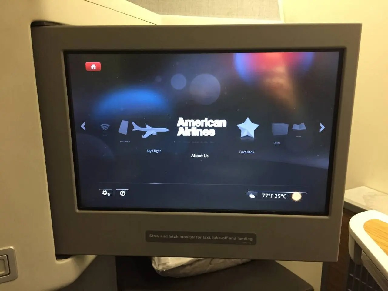 American Airlines B77W Business Class-017