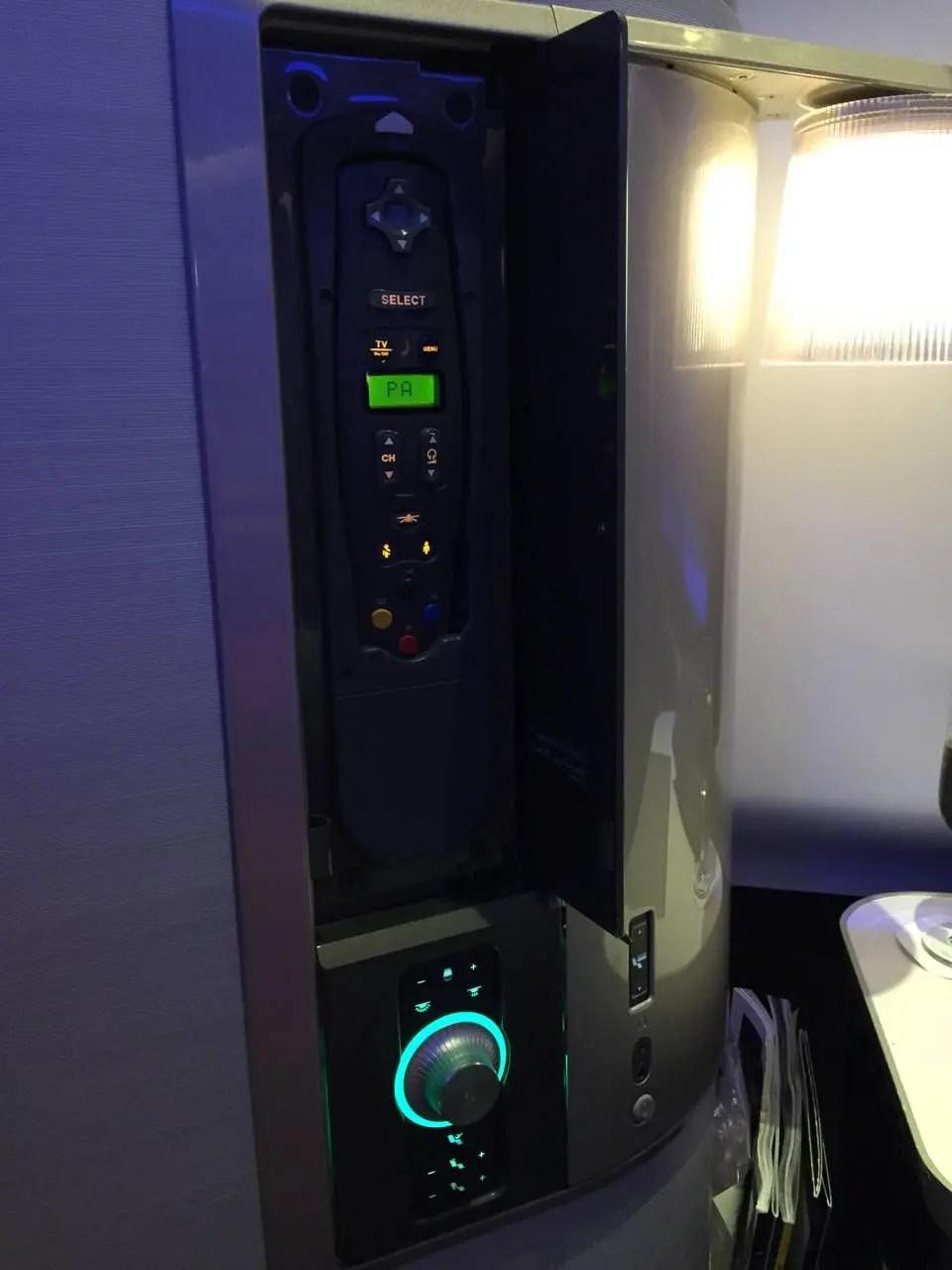 British Airways First Class B747 -012