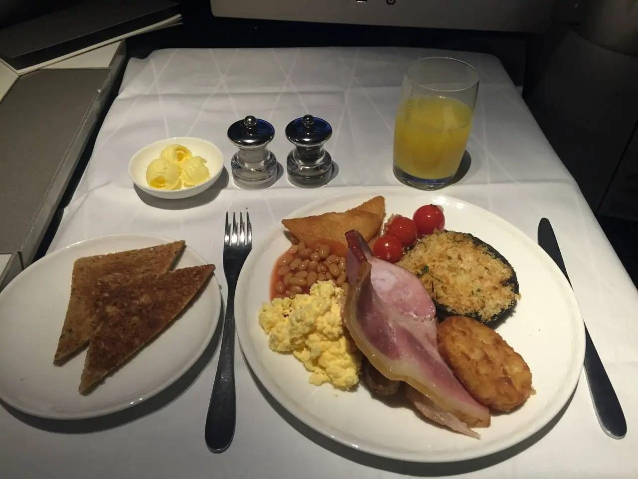 British Airways First Class B747 -031