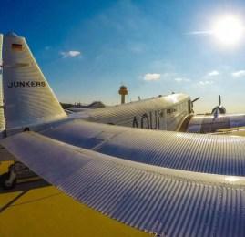 Hamburg Airport Days 2015 – Conhecendo o Airbus Beluga – Como é voar no Junker 52 da Lufthansa