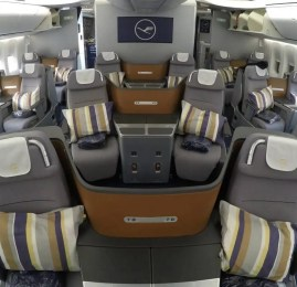 Classe Executiva da Lufthansa no B747-8 – São Paulo para Frankfurt