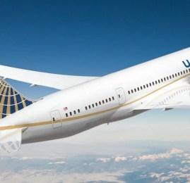 United Airlines entra com pedido nos EUA para voar para Xi'an na China