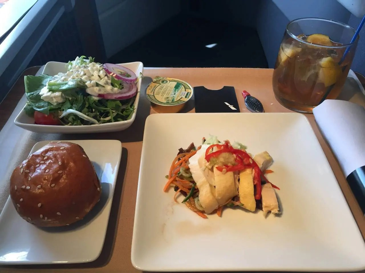 AA Hong Kong Dallas Business Class- - 16
