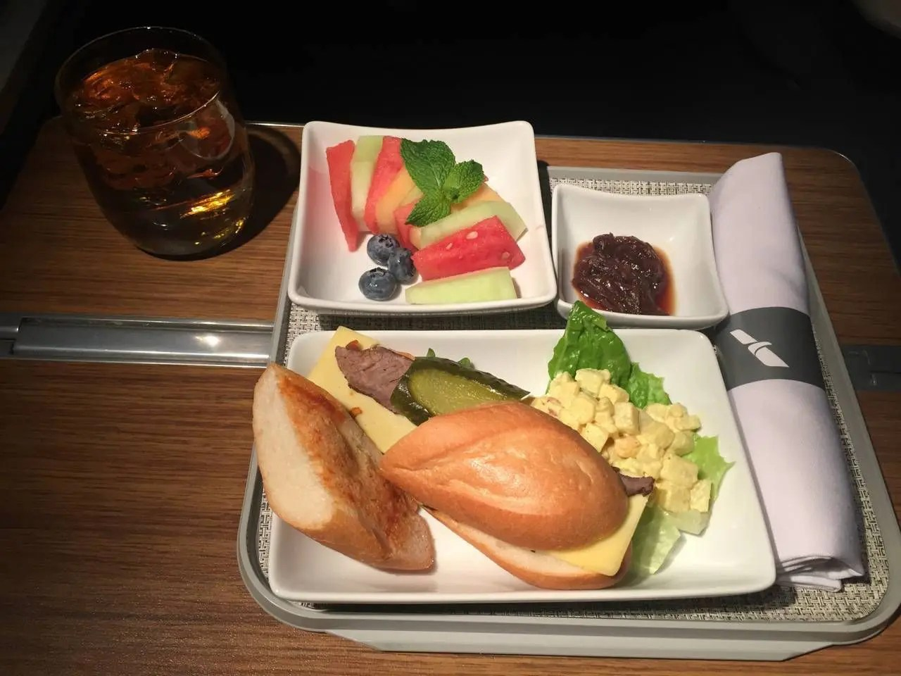 AA Hong Kong Dallas Business Class- - 19