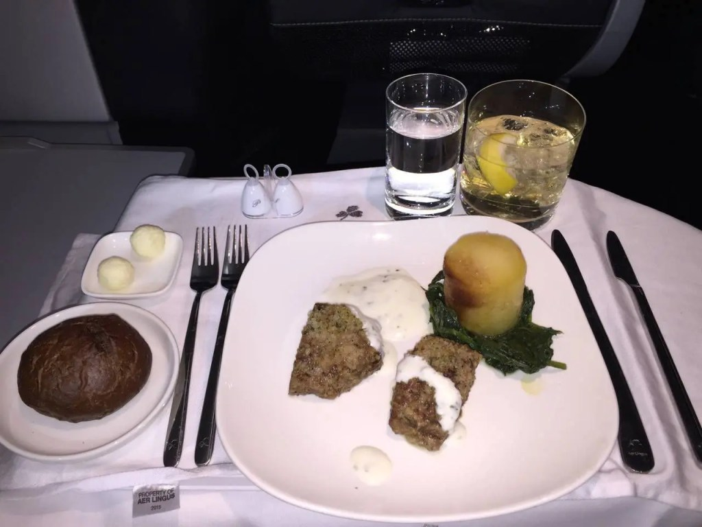 Aer Lingus A330 Business Class - 16