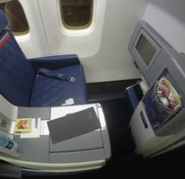 Classe Executiva da Delta no B767-300ER – São Paulo para Detroit