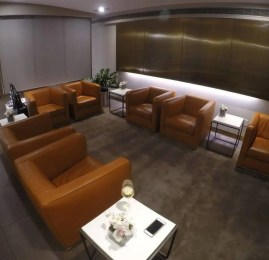 First Class Lounge da Lufthansa – Aeroporto de Nova York (JFK)