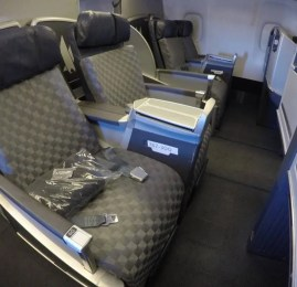 Classe Executiva da American Airlines no B767 – Dallas para Los Angeles