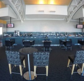 American Airlines Flagship Check-in e Flagship Lounge – Aeroporto de Los Angeles (LAX)