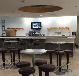 Sala VIP United Club – Aeroporto de Los Angeles (LAX)