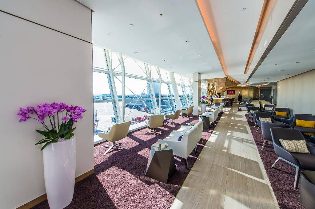 Etihad Airways Lounge at JFK International Airport