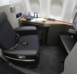 Primeira Classe da American Airlines no B777-300ER – São Paulo para Miami