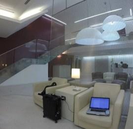Sala VIP Alitalia – Aeroporto de Roma (FCO)
