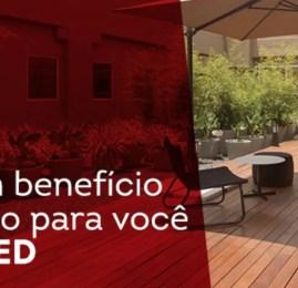 Clientes RED tem desconto na hospedagem do hotel TRYP dentro do aeroporto de Guarulhos