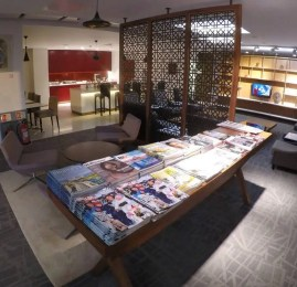 Sala VIP Air India Lounge – Aeroporto de Londres (LHR)