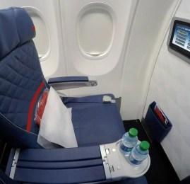 Primeira Classe doméstica da Delta no B737-900ER – Atlanta para São Francisco