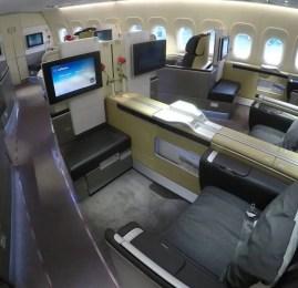 Primeira Classe da Lufthansa no B747-800 – São Paulo para Frankfurt