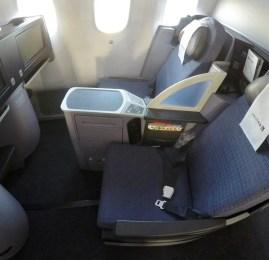 Classe Executiva da United Airlines no B787-9 – Houston para Los Angeles