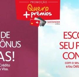 Cartões do Santander irão pontuar até 6,6 pontos por U$ gasto até Janeiro de 2017