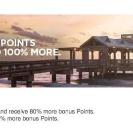 Ganhe 100% de bônus na compra de pontos no HHonors
