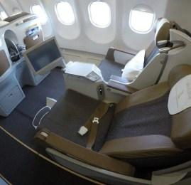 Classe Executiva da South African no A330 – São Paulo para Johannesburgo