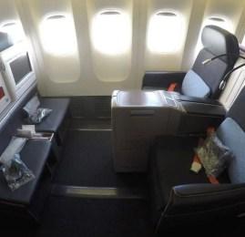 Classe Executiva da Turkish Airlines no B777-300ER – Istambul p/ São Paulo