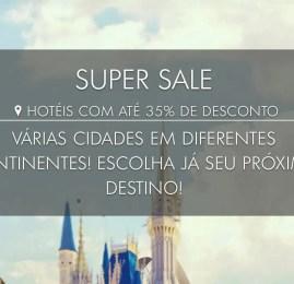 Super Sale nos hotéis da marca TRYP by Wyndham para clientes MeliáRewards