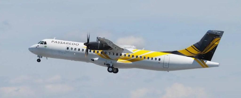 ATR 72-600 Air Lease in Passaredo livery MSN 1022