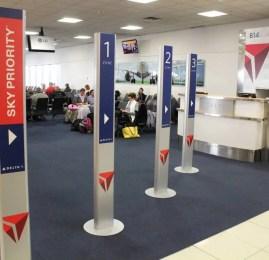 Delta apresenta novo processo de embarque em Atlanta