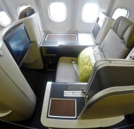 Nova Classe Executiva da TAP no A330 – São Paulo p/ Lisboa