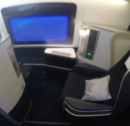 Primeira Classe da British Airways no B777 – Sydney p/ Cingapura