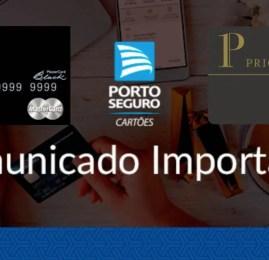 Portadores dos cartões Mastercard Black da Porto Seguro não terão direito mais ao Priority Pass