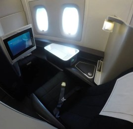 Primeira Classe da British Airways no A380 – Londres para Miami