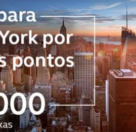 Programa Amigo da Avianca tem passagens para Nova York por 28.000 pontos