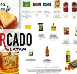 MERCADO LATAM: Conheça o cardápio LATAM para voos domésticos!