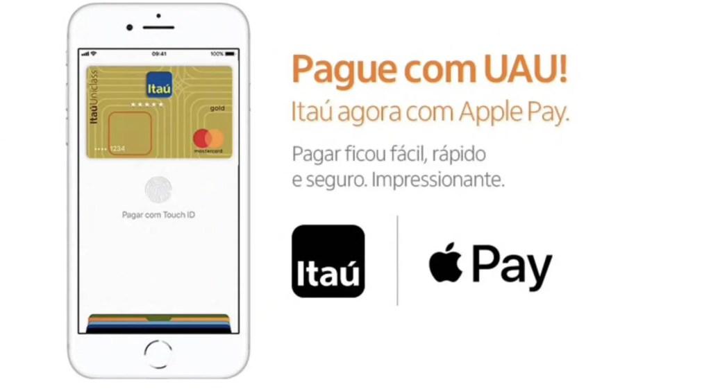 ba4b7863f2fa5 Cartões de crédito do Itaú agora são compatíveis com o Apple Pay ...