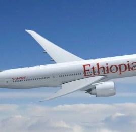 Ethiopian Airlines inicia voos diários para São Paulo com o Boeing 777