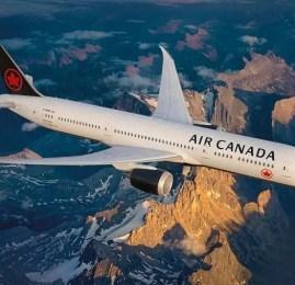Air Canada começa a oferecer conexão via satélite em seus voos internacionais