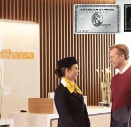 Portadores dos cartões American Express terão acesso às salas vip's da Lufthansa