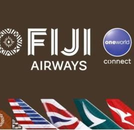 Novidade!!! Fiji Airways entra para One World como primeiro membro Connect!