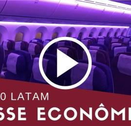 Vídeo: Classe Econômica da Latam no 787-800 de Auckland para Santiago