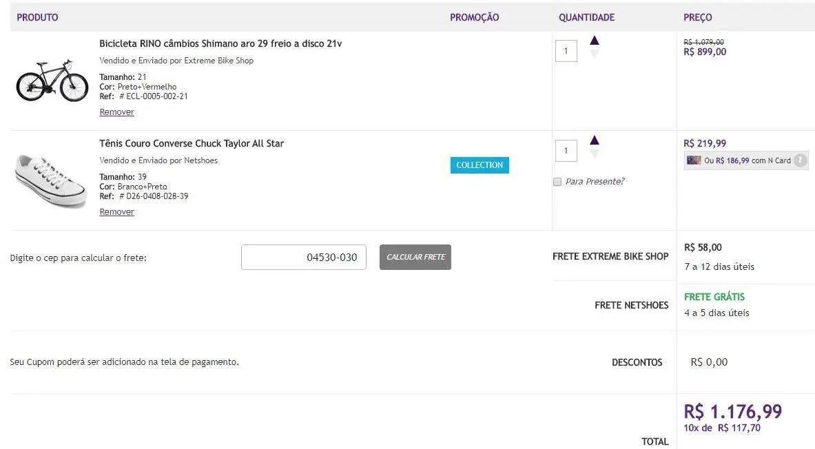 TudoAzul  10 pontos por real gasto na Netshoes - Passageiro de Primeira 37a2b21b3a1ff