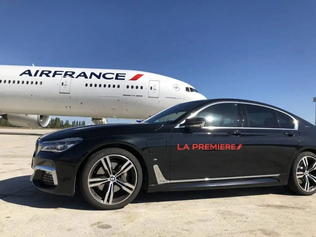 Prmeira Classe da Air France Motorista