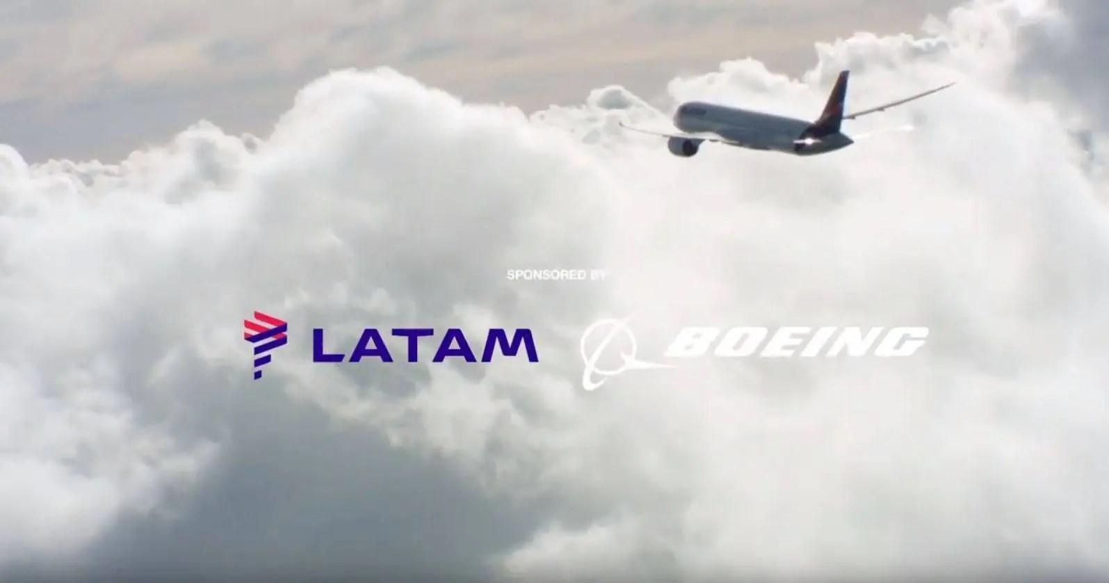 A Beleza de Voar - Latam e Boeing