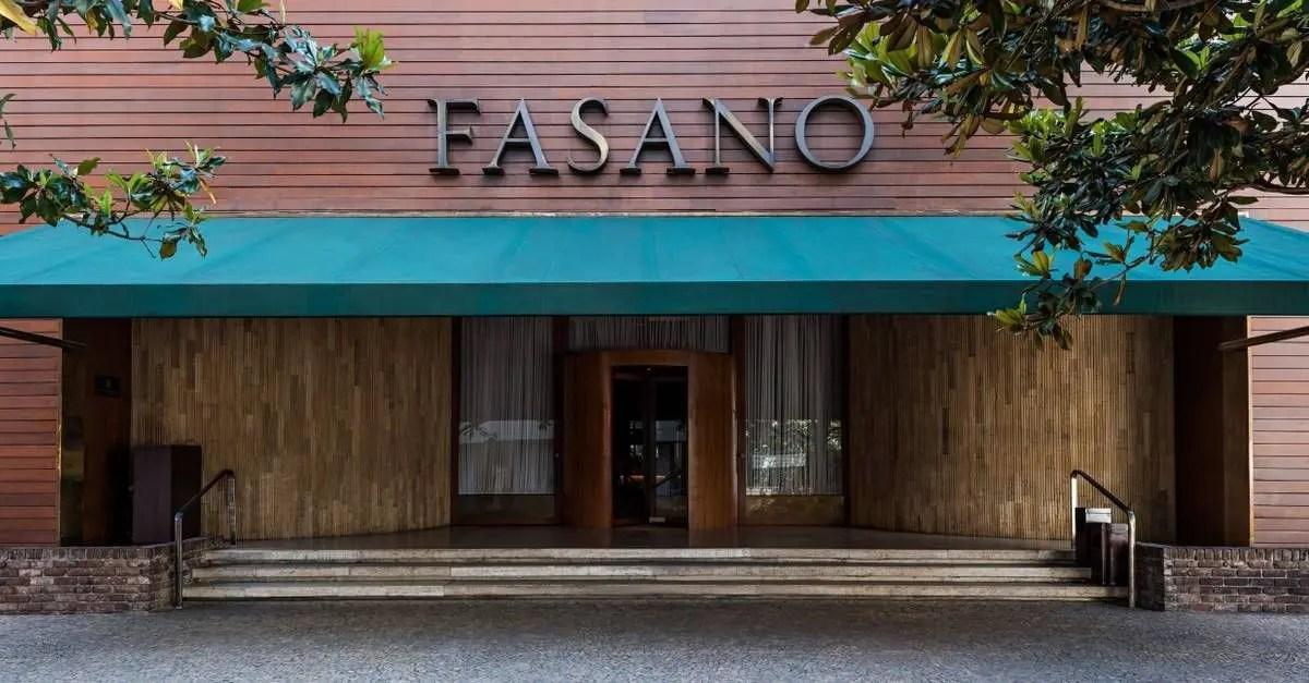 sugestões hotéis de luxo Fasano São Paulo