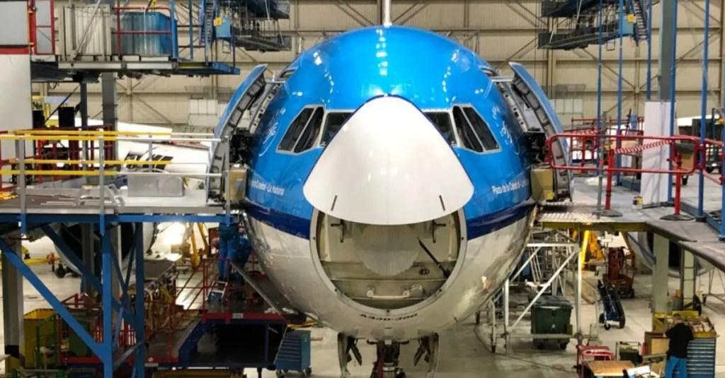 nariz aeronave