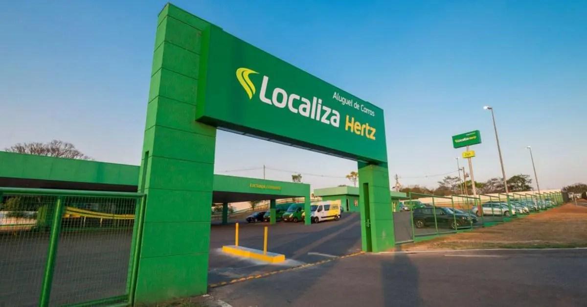 Localiza fim da parceria Hertz