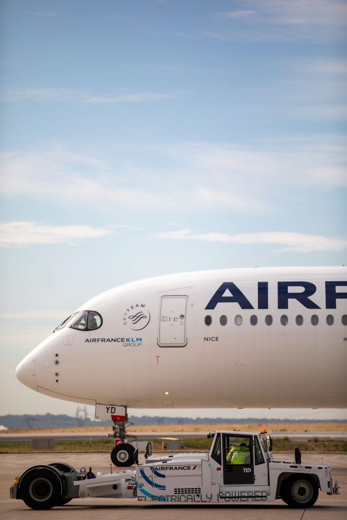 Pushback Air France